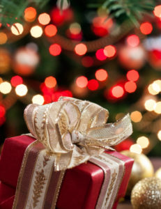 Image result for church christmas with gifts for people